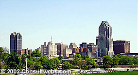 Raleigh NC Skyline - Photo by Consultwebs.com © 2001-2002
